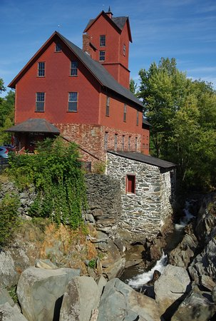 Old Red Mill and Museum : Old Mill Museum at Jericho, VT