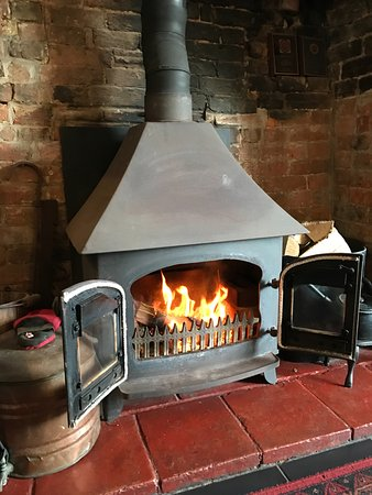 Sidbury, UK: Log Burner