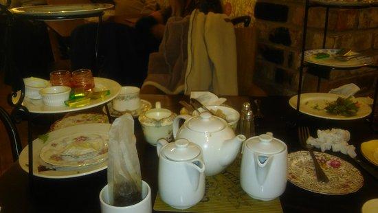 Elizabeth Botham's Tea Rooms : Afternoon tea for 3, £34, lovely!