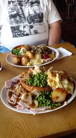 The Peacehaven Crown Carvery: Too much!