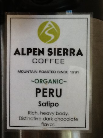Elko, NV: Direct Trade Organic coffee, roasted in Mindon, Nevada.  We believe in the local economy