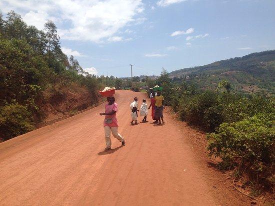 Gisenyi, Ruanda: kigali outskirts