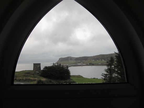 Uig, UK: view from room