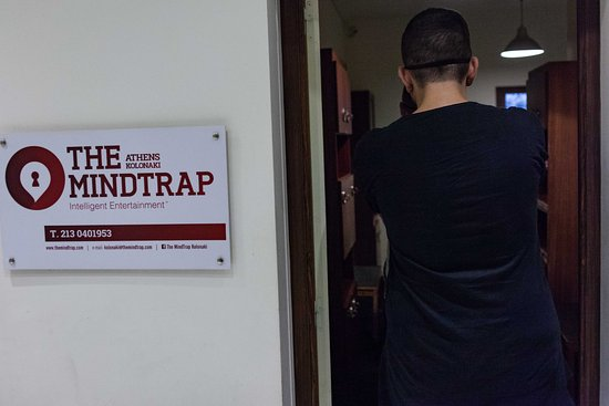 6c456ede82 Ready to play in The MindTrap Kolonaki  - Εικόνα του The MindTrap ...
