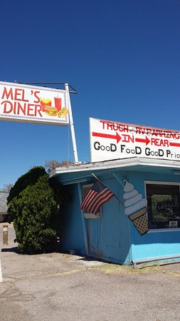 Death Valley Inn: Mel's dinner