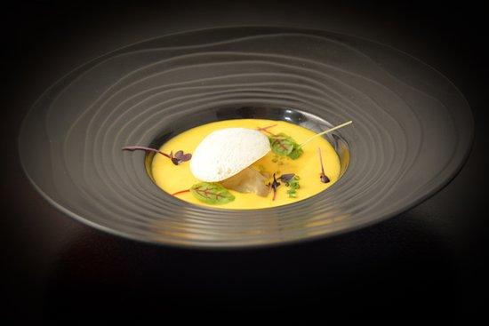 Cellettes, Francja: Raviole de foie gras