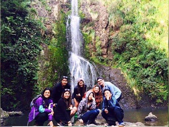 Piha, Nya Zeeland: kitekite falls