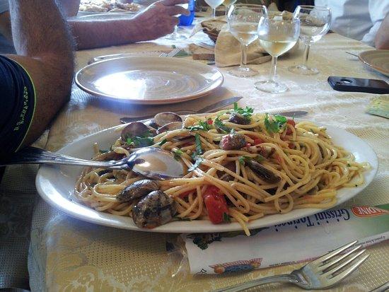 Hotel  Agostiniana: Spaghetto Vongole, buonissimo🍴