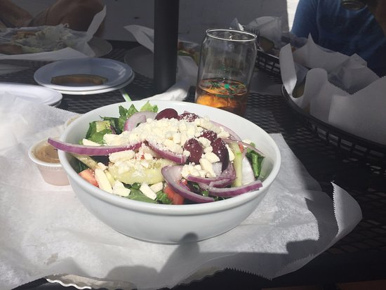 Madison, GA: Greek Salad - lunch