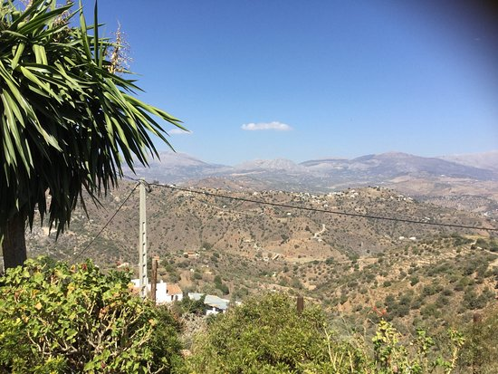 Comares, Spanien: The View from the patio