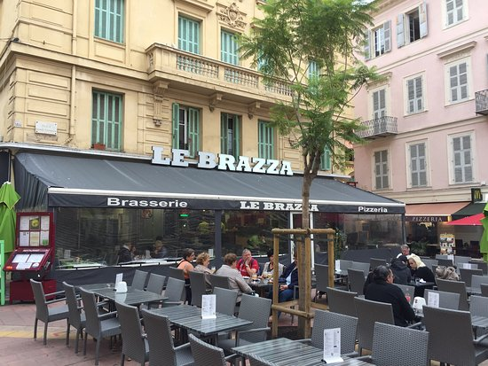 Le brazza menton restaurant reviews photos phone - Hotels in menton with swimming pool ...