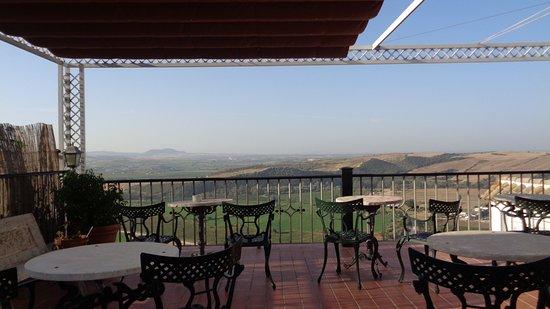 Hotel El Convento: Terraza