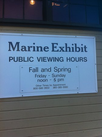Port Townsend Marine Science Center : Hours