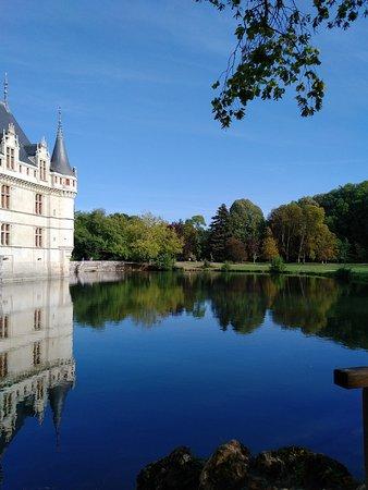 Azay-le-Rideau, Frankrig: vue extérieure