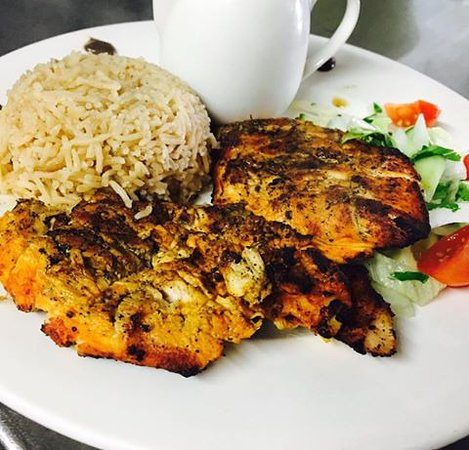 Sweet Centre Restaurant : Delicious Chicken Breast Served With Pillau Rice, Chargrilled.