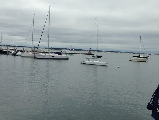 Stonington, CT: view from table