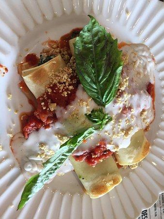 North Miami Beach, FL: Spinach cannelloni!