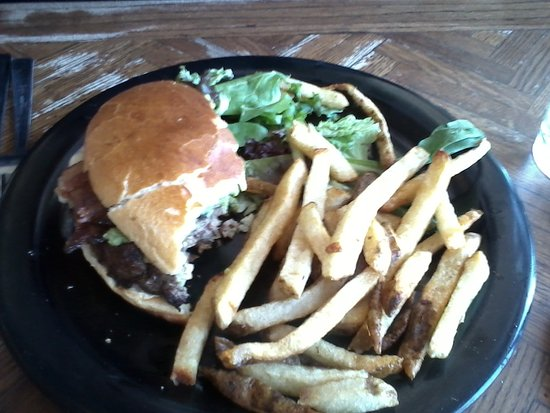 Madrid, NM: Black Jack Burger...delicious!