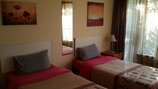 Kempton Park, África do Sul: Twin Room with a Garden View