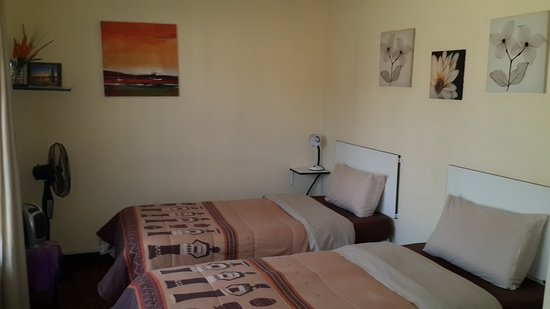 Kempton Park, África do Sul: Twin Room with a Pool View