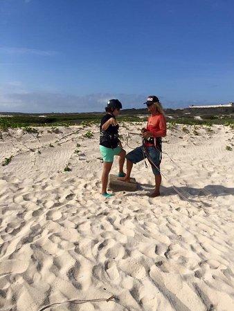 Santa Cruz, Aruba: Si eres aventurero y quieres iniciarte en el mundo del Kite Aruba con sus playas y PKS con su Ma