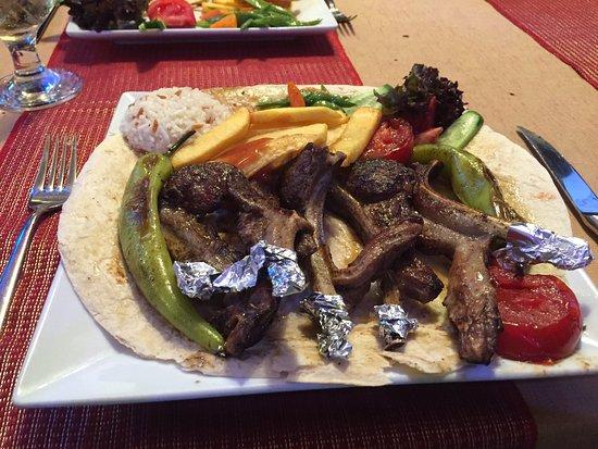 Diana Restaurant: Lamb chops