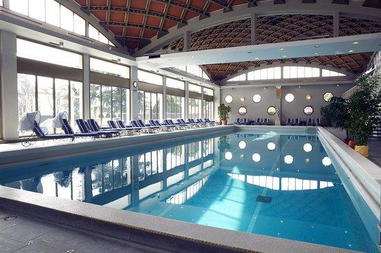 Abano Ritz Terme: Piscina Interna semiolimpionica, ad acqua termale 35°C