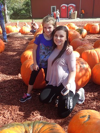 Dawsonville, Gürcistan: Cousins at Burt's Pumpkin Farm!