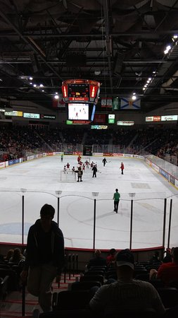 Scotiabank Centre : game