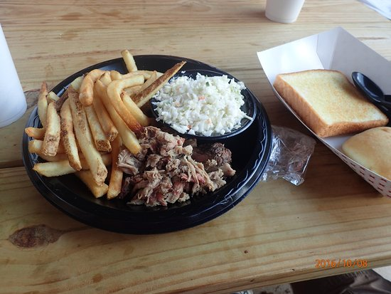 Talking Rock, GA: BBQ Pork Plate....