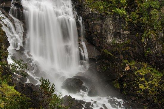 Kinsarvik, Noorwegen: Second waterfall