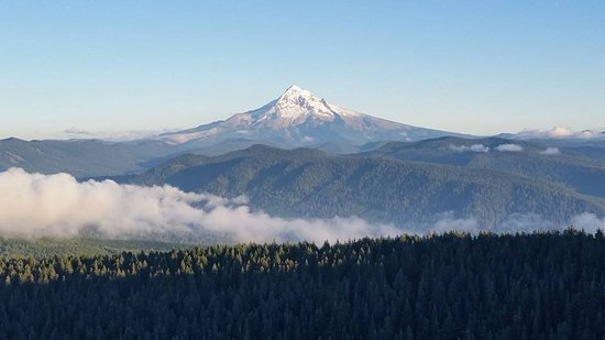 Corbett, OR: Mt. Hood.