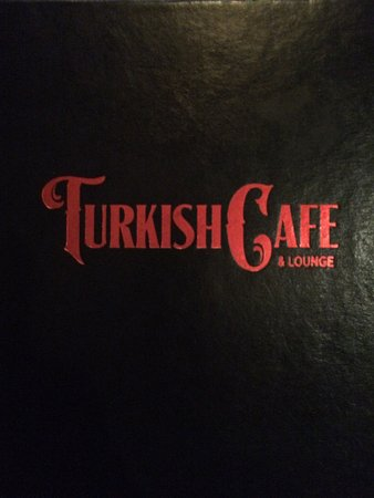 turkish cafe and lounge menu cover