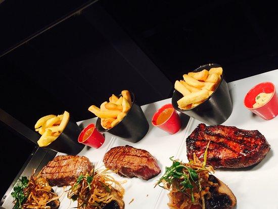 Leopardstown, Irland: Premium Steaks