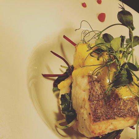 Leopardstown, Irland: Pan-Fried fillet of Hake