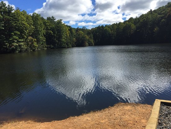 Chatsworth, Джорджия: Photos of Fort Mountain State Park stay October 2016