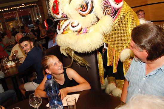 Eupen, Belgio: La danse du dragon