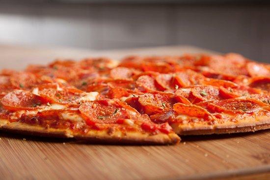 Massillon, OH: Edge to Edge Pepperoni Pizza