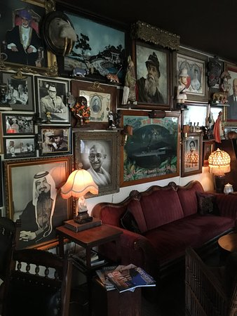 Castine, ME: the bar - you could look for an hour at the fotos!