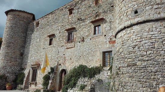 Gaiole in Chianti, Italia: vista del castello