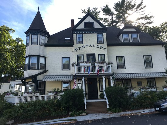 Castine, ME: a lovely house
