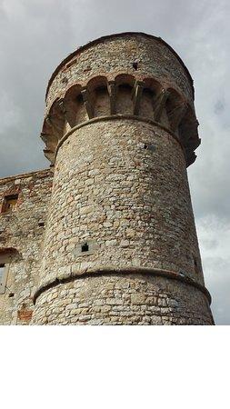 Gaiole in Chianti, Italia: torre del castello