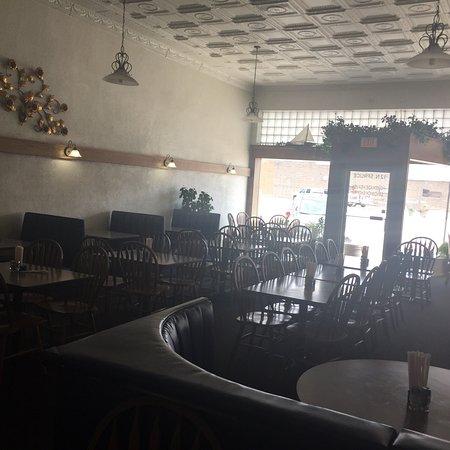 Ogallala, Νεμπράσκα: Exterior and interior of shop