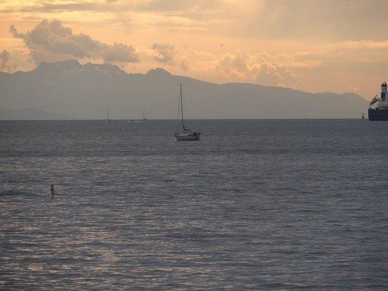 English Bay: Pôr-do-sol