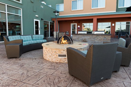 outdoor fire pit picture of residence inn by marriott houston