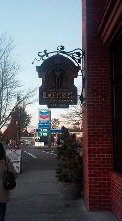 Blaine, WA: sidewalk
