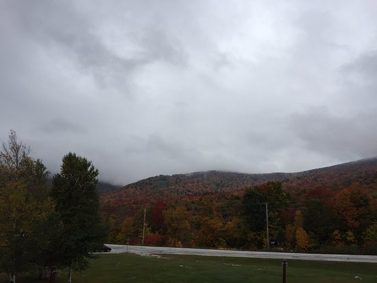 Killington, Vermont: View from our room balcony