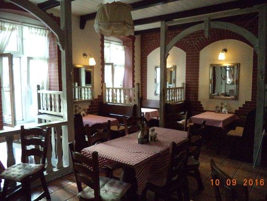 Slubice, Polen: Innenbereich des Restaurantes