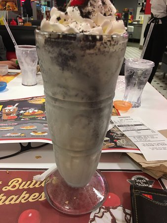 McKinney, TX: Cookies & cream milkshake