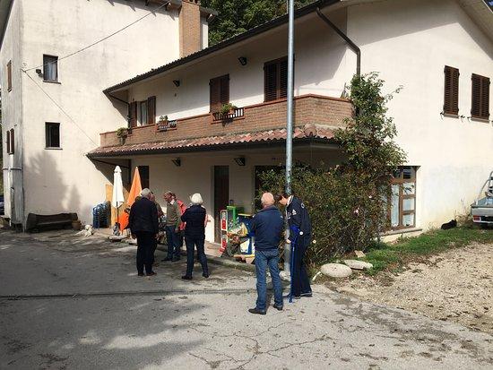 Ristorante Mandrelli: Het restaurant is niet erg opvallend...
